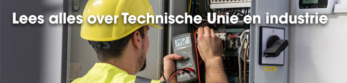 OEM of MRO, Technische Unie is uw partner in de industrie