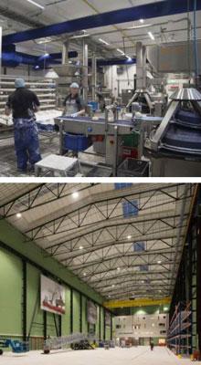 Ledverlichting voor elke industriële sector