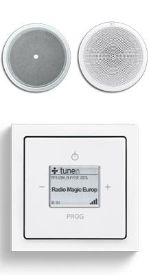 Busch-Radio iNet inbouwradio | Technische Unie