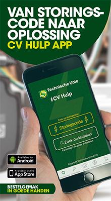 Nieuwe app: Technische Unie CV Hulp | Technische Unie