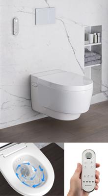 de nieuwe douchewc geberit aquaclean mera technische unie. Black Bedroom Furniture Sets. Home Design Ideas