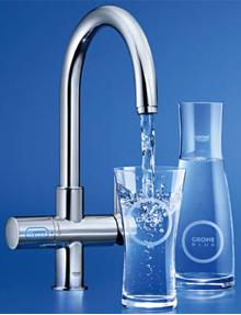 Heerlijk gefilterd water direct uit de kraan met GROHE Blue®