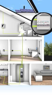 Groepenkast Vision van Hager: nu ook voor PV-installaties