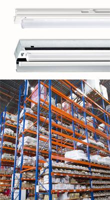 Nieuwe verlichtingsoplossingen Norton voor industrie en opslag: NLS-P en STB