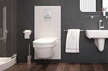 Hangend toilet plaatsen kosten better douchetoilet grohe sensia