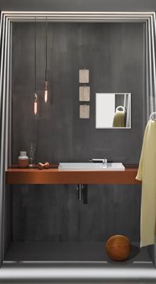 Luxe en comfort in een kleine badkamer technische unie for Moderne doucheruimte