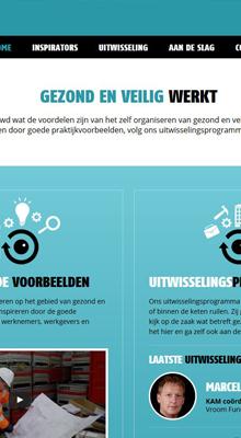 Nieuwe website Sociale Zaken en Welzijn: www.gezondenveiligwerkt.nl