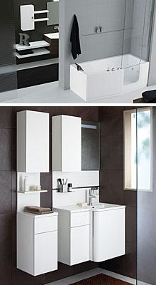 Compacte badkamer - Integrale badkamer ...